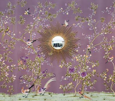 Purple Chinoiserie